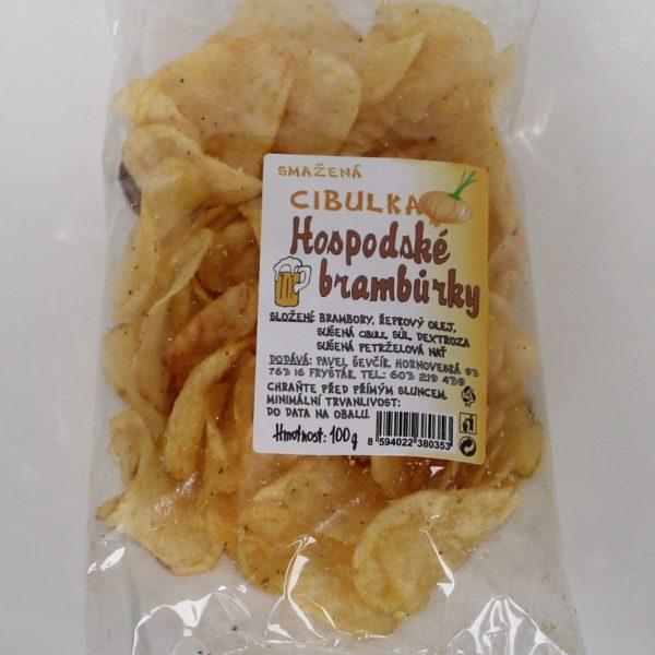 Hospodské brambůrky cibulka 100g
