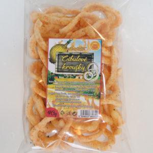 Cibulové kroužky pikantní 40g